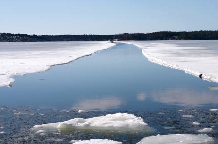 Cómo pescar en agua fría